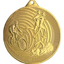 Medal triathlon 70mm MMC3079